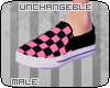 [U]Pink Vans - M