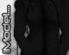 [iM] Black Zipper Hoody