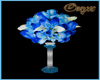 Wed. Blue Flower