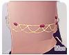 Mun | Gold Rose Anklet