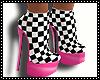 checkered Heels