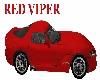Viper Red Sports Car