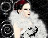 Snowflakes Boa White