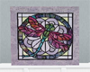 Stain Glass P Dragonfly1