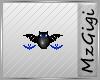 Batty Minion-Blue -Badge