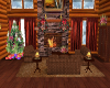 Snowy Log Cabin  add on
