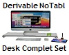 Desk Complet Set NoTable