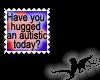 N- Autism hug Stamp