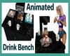 Drink & Cupcake Bench