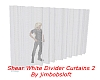 White Divider Curtains 2