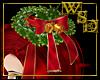 Christmas Hair Wreath
