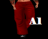 Custom Red Slacks