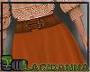 Long Skirt Rust