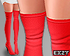 Red Tall Boots.