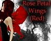 Rose Petal Wings - Red