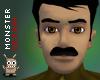 (BS) Moustache - black