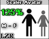 Scaler Avatar M - F 125%