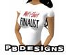 PB Wet T-Shirt Finalist