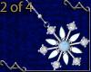 VA Snowflake Earrings