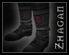 [Z] Necrom.Boots red