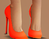 Orange High Shoe