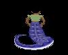 Snake Tail Blue