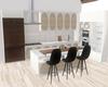 :3 Modern Wooden Kitchen