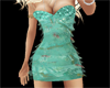 BB Teal Party Dress