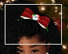 Kids Santa Christmas Bow