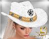 !A! Cowboy Hat White