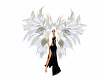 Off White Angel Wings