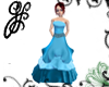 GF-Blue Ocean Gown