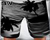 Grey Sunset Beach Shorts