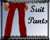 Basic Suit - Red Pants