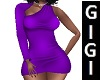 DESIRE PURPLE DRESS