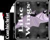 Lilac Bat Rose Wings