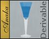Crystal Goblet, Blue