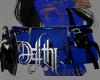 lace purse blue