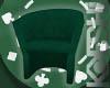 Green Poker Chair