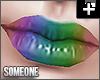 + allie rainbow lipstick