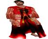 *A* Red Silk Kimono