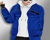 (MD) Blue kpop hoodie