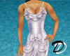 Satin Ribbon dress (wht)