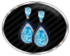 DD *BLUE TOPAZ EARRINGS*