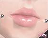 ♡ cheek piercing