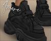 $ Black Sneakers