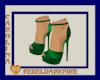 (CR) Green Heels