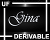 UF Derivable Gina Sign