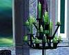 Green House candelabra
