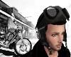 Guys Biker Helmet